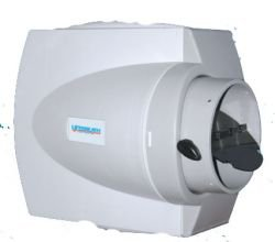 Pulsed Flow-Thru Humidifier