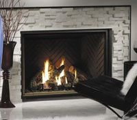 Direct Vent Zero Clearance Gas Fireplace Model HBZDV-4740