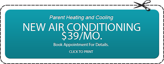 New Air Conditioning at $39 a month