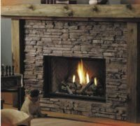 Direct Vent Gas Fireplace Model